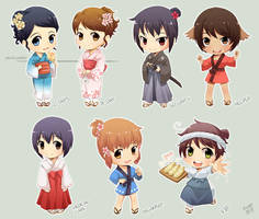 Animatsuri ID's by meago