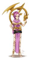 Sorbet the Dragonmistress by meago