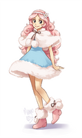 cotton candy fullbody by meago