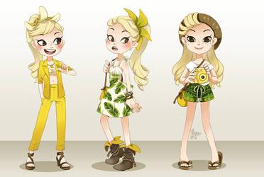 Banana alternative outfits by meago