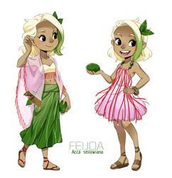 dollicious Exotic: Feijoa by meago