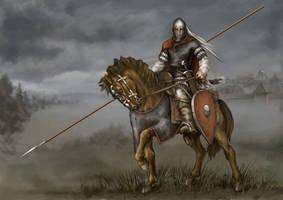 Kyiv Knight 12th century by Igor-Zhovtovsky