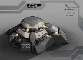 Bunker by Igor-Zhovtovsky