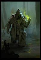 Swamp necromancer by Igor-Zhovtovsky