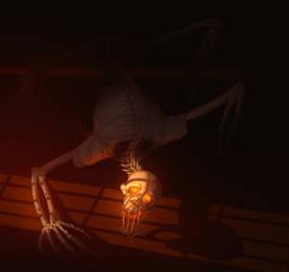 Skittering in the Dark by Mercy-Monster