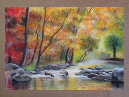Liquid autumn by diana-0421