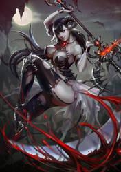 1405 Vampire girl by nethvn