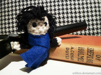 Sherlock Amigurumi by xAllion