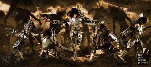 Diablo III Demon Hunter by Crimson-Shirou