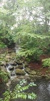 Small Waterfall at Rainbow Springs Park by Le-Smittee