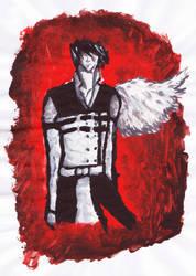 angel in flames by devALLjapan