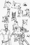 A New Sketch Dump by devALLjapan