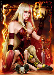 Rimiviel - Black Age Online by rafater