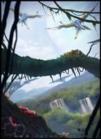 Avatar Fan Art: Pandora by rafater