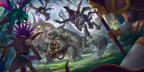 Heroes of the storm contest - Epic Battle by rafater