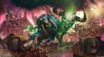 Ironjawz vs Bloodbound by rafater