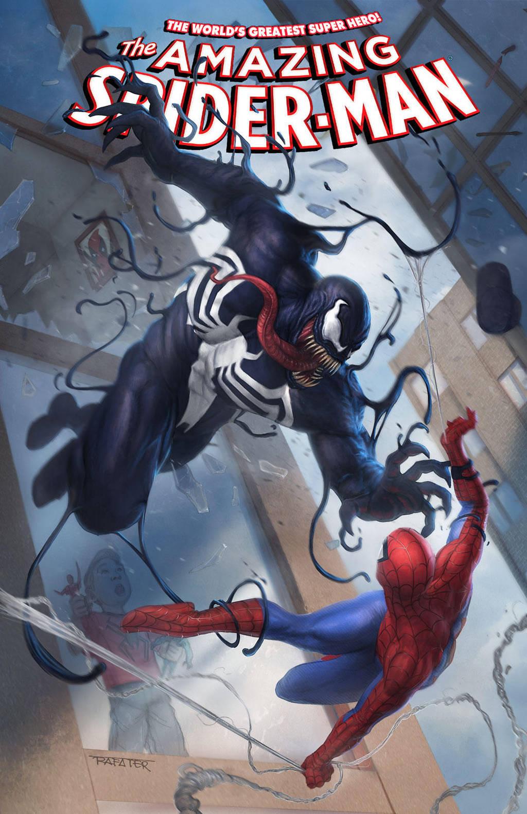 Venom vs. Spider-man cover by rafater