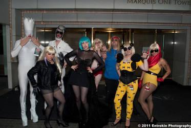 The Gaggle if Gaga by AcidFusion51