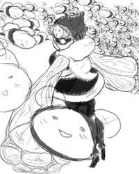 hiving a honey of a time by Shin-kun-san
