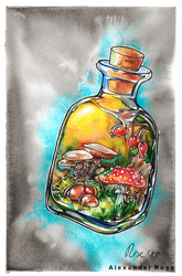 autumnal elixir by MrBonecracker