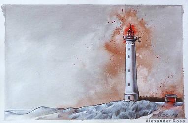 Lighthouse by MrBonecracker