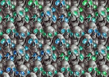 yet more skulls by MrBonecracker