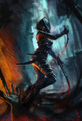 Rogue - Shadow - Assassin by LucasParolin