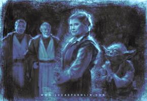 Farewell Carrie Fisher by LucasParolin