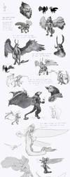 Concept Sketches by LucasParolin