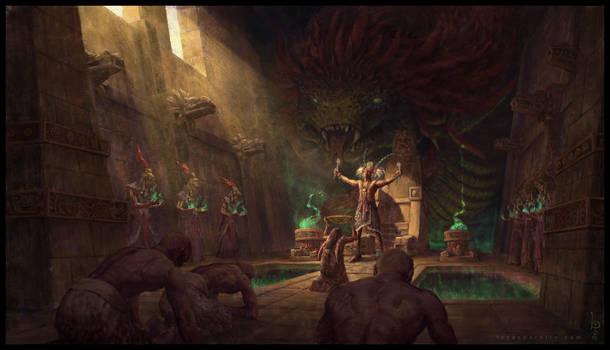 Quetzalcoatl Trial by LucasParolin