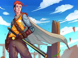 Nix the swordsman by Emerash