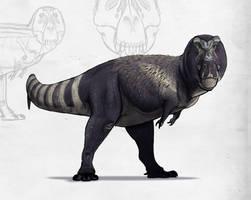 Paleo-Art: T Rex Study 2018 by vcubestudios