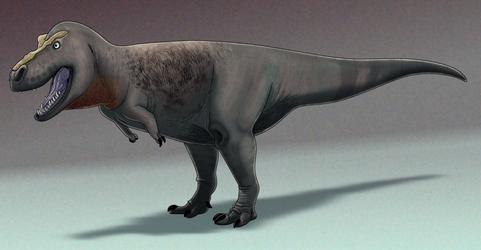 Paleo-Art: T Rex Study by vcubestudios