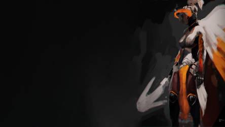 Mercy Brush Wallpaper (1080p) by Asainguy444