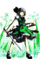 Youmu Konpaku by Grotesque-89