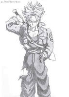 Future Trunks Super Saiyan by MiraiWarriorWithin