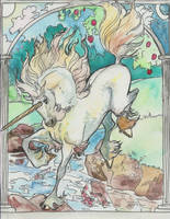 unicorn jump by jupiterjenny