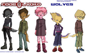 Code Lyoko Wolves by 10Networks