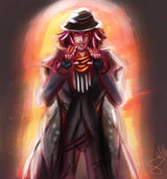 Only I can guide you there - Ardyn Izunia by Tsu-bari