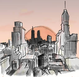 The City by illogical21