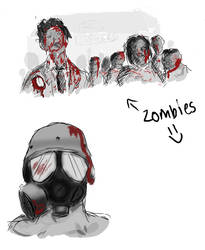 Zombies eh by illogical21