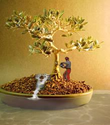 Bonsai Tree Surgeon by illogical21