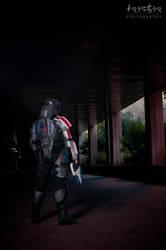 Commander Shepard by Taichia-Photo