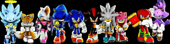 Sonic universe team by MrTermi988