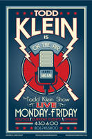 the todd klein show poster by Satansgoalie