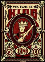 vector king by Satansgoalie