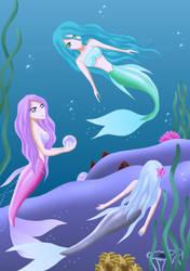 Mermaids by SisArty87