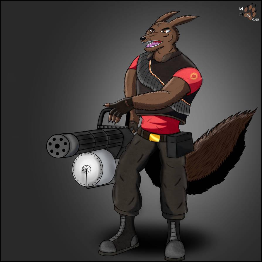 Tf2 Heavy Wolf By Wollewolf95 On Deviantart