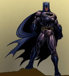 Batman V5 color by dushans