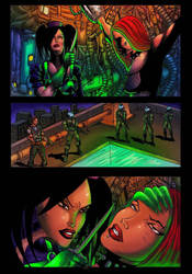 Liza ray issue 3 page 4 by dushans